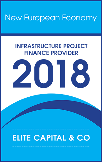 """""""Infrastructure Project Finance Provider 2018"""" by New European Economy"""