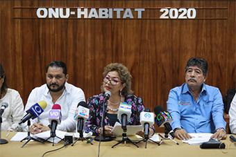 """The trip to Abu Dhabi was a resounding success"" Municipal President. Adela Román Ocampo - 18 February 2020, Acapulco, Mexico."